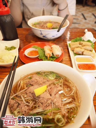 梨泰院Le Saigon越南料理_韩国美食_韩游网