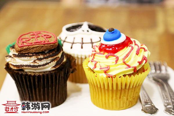 梨泰院Monster Cupcake蛋糕店_韩国美食_韩游网