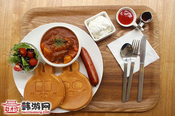 东大门 现代奥特莱斯MAJO&SADY咖啡甜品店_韩国美食_韩游网