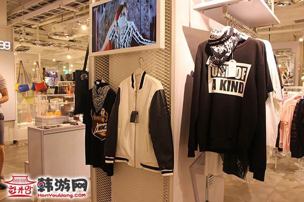韩国yg娱乐公司旗下服装品牌店