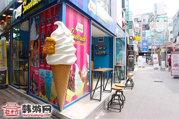 Sweettruck冰淇淋店