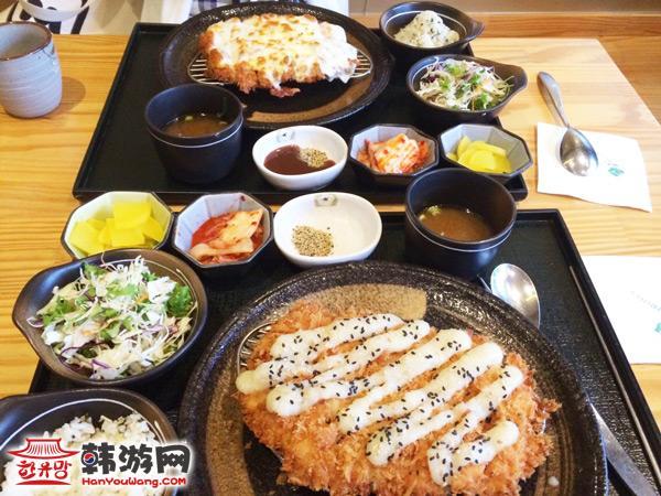景福宫西村路猪排饭特色美食