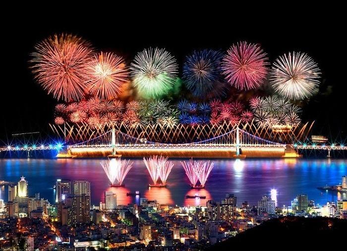 釜山 烟花节 广安里