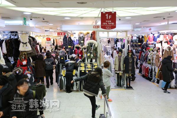 东大门Migliore购物商城_韩国购物_韩游网