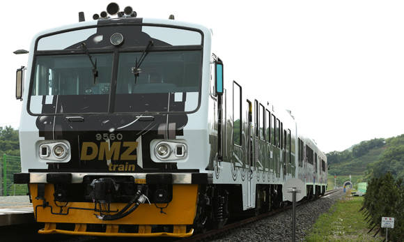 韩国 DMZ列车 都罗山站
