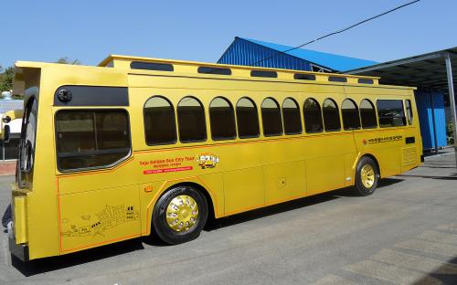 济州岛 黄金旅游巴士 中国