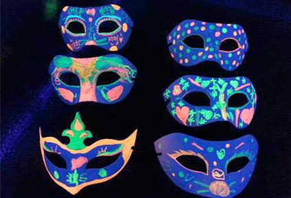 美术面具制作步骤