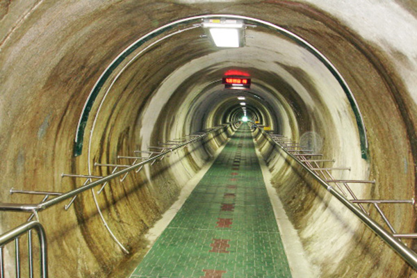 DMZ第三地道观光_韩国景点_韩游网