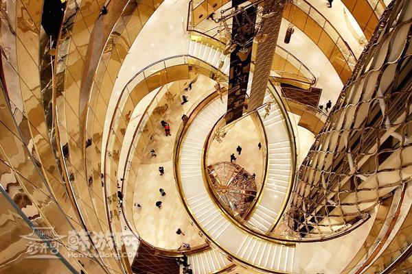 乐天世界大厦夏洛特楼梯