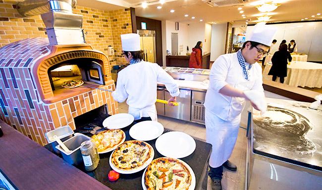 济州岛烤烤火炉披萨