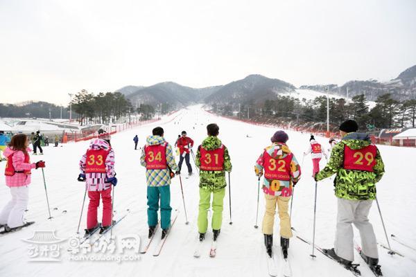 韩国京畿道芝山滑雪场