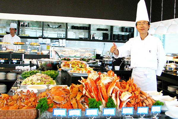 济州香格里拉海鲜自助餐中文