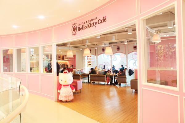 Hello kitty主题咖啡厅济州岛店