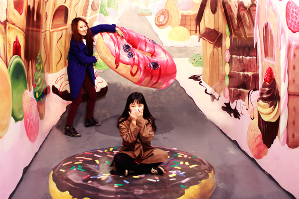 爱来魔相4D艺术馆和智勇迷宫探险_韩国景点_韩游网