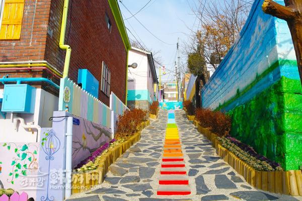 童话村小巷