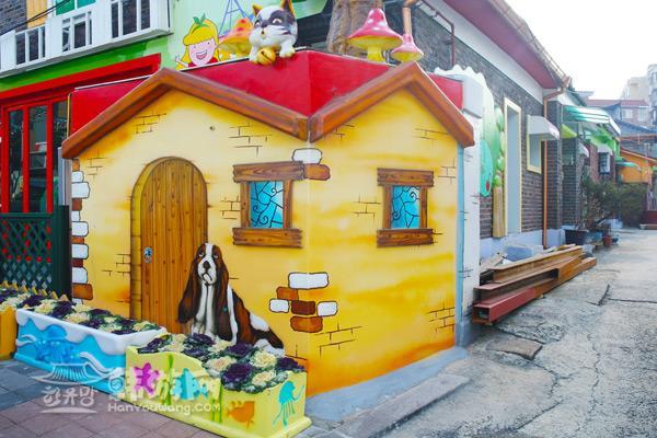 童话村房屋