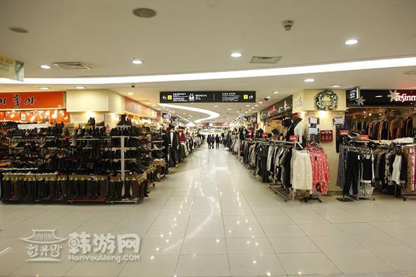 蚕室地下商街_韩国购物_韩游网