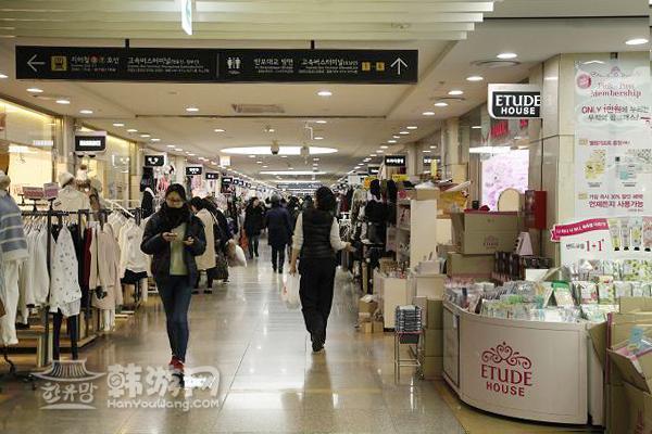 高速巴士客运站地下商街(Goto Mall)_韩国购物_韩游网