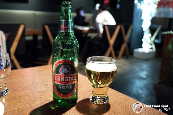 青岛啤酒,以及终于登场的小笼包