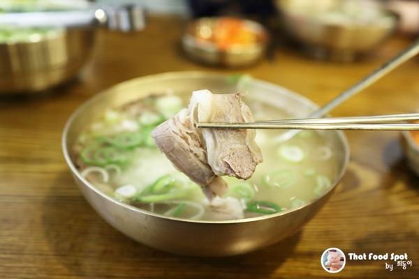 COEX河东馆牛骨汤