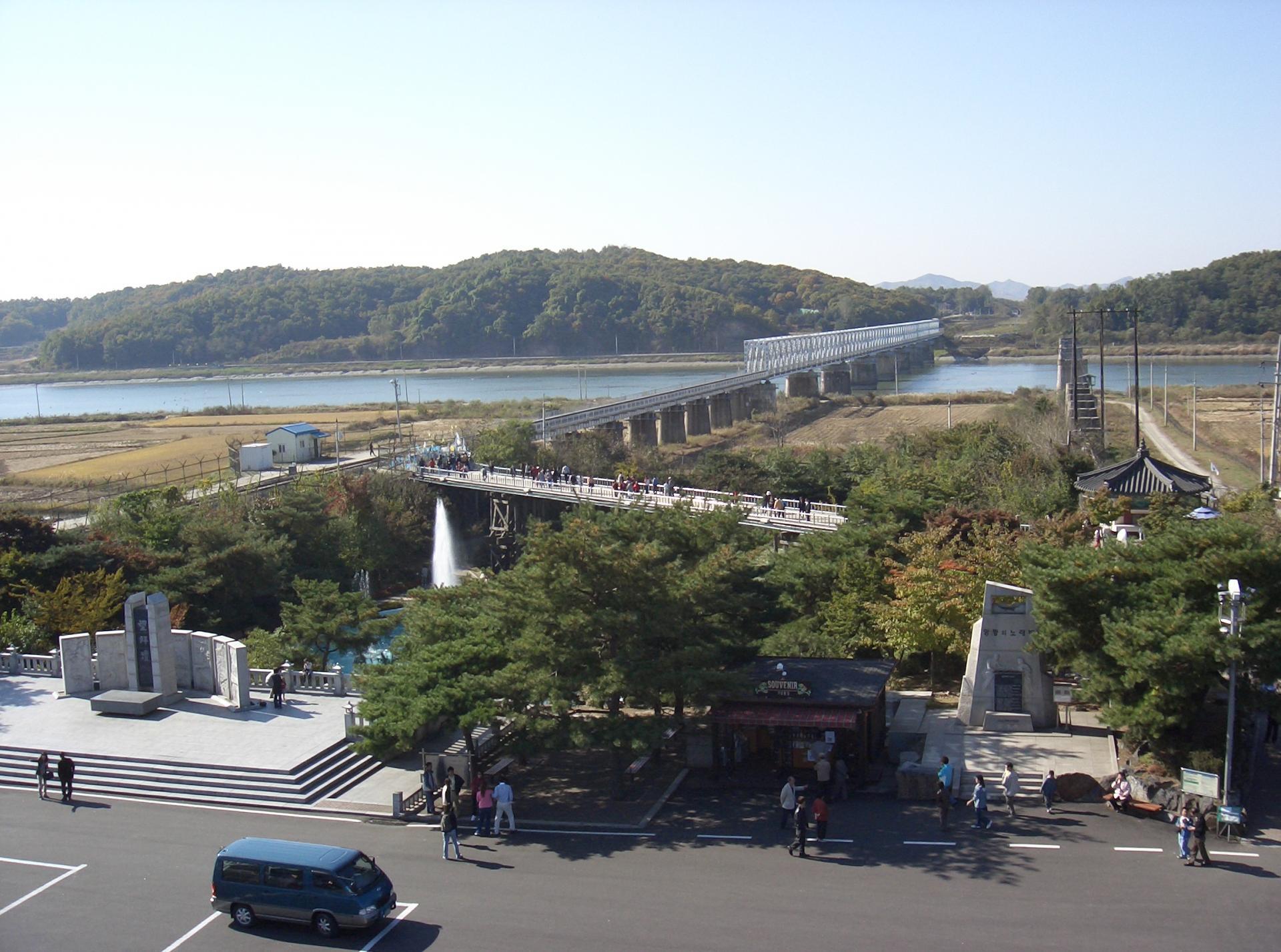 京畿道坡州临津阁一日游9