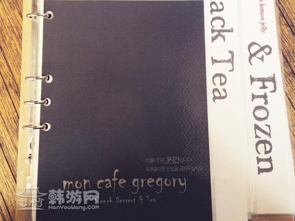 弘大Mon cafe gregory 法式甜品店_韩国美食_韩游网
