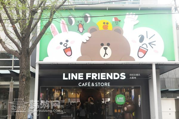Line Friend Store林荫路店_韩国购物_韩游网