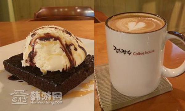 明洞全光洙的咖啡屋_韩国美食_韩游网