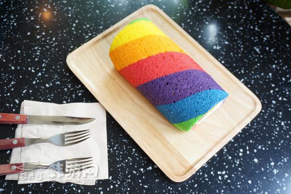 梨泰院彩虹蛋糕Frank's 咖啡馆