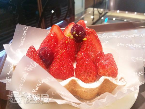 光化门Paris Croissant巴黎可颂法式面包店_韩国美食_韩游网