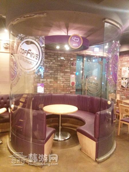 明洞Coffine Gurunaru咖啡连锁店