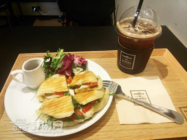 光化门Coffee@Works咖啡厅