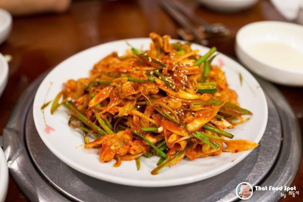 新沙洞江西面屋烤肉冷面_韩国美食_韩游网