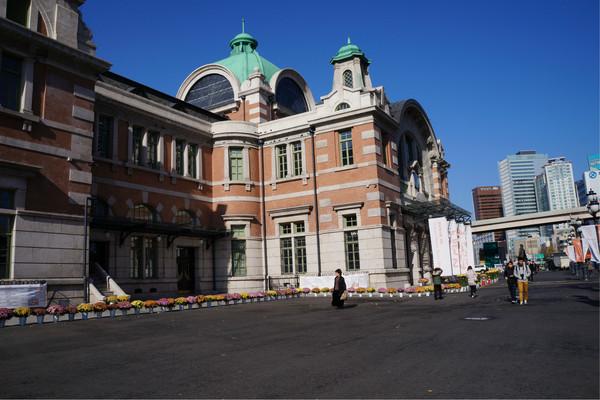 老首尔火车站 很欧式的建筑