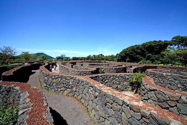 济州岛mazeland迷路公园