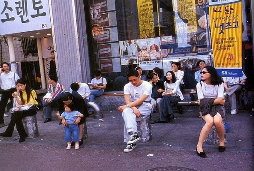 照片墙 90年代末的首尔