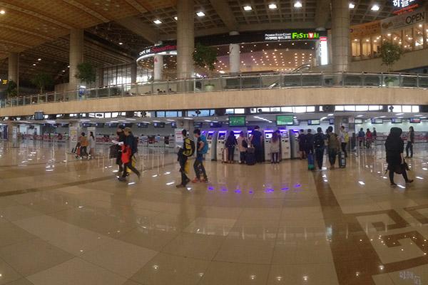 金浦机场购物