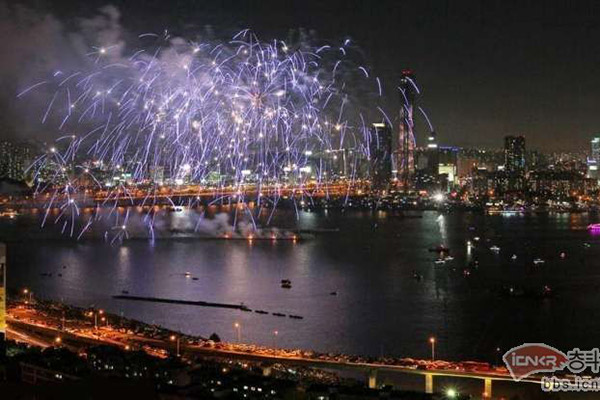 首尔世界烟花庆典6