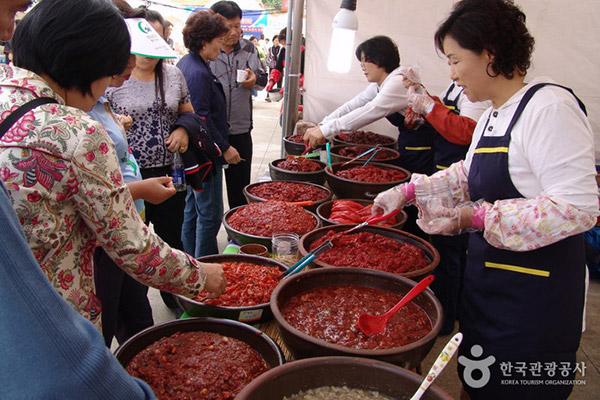 江景发酵鱼酱庆典
