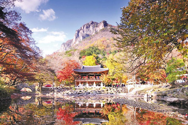 韩国枫叶大赏游览地点2