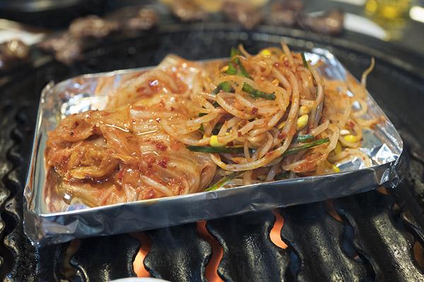 往十里炭火烤肉韩式料理23