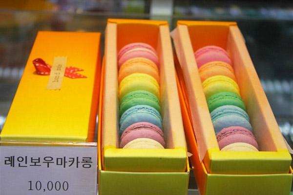 韩国首尔好吃的马卡龙蛋糕5