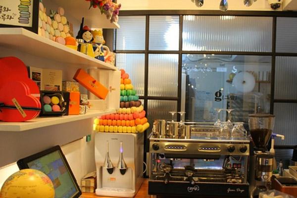 韩国首尔好吃的马卡龙蛋糕2