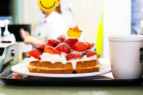 韩国草莓蛋糕甜点大搜罗2
