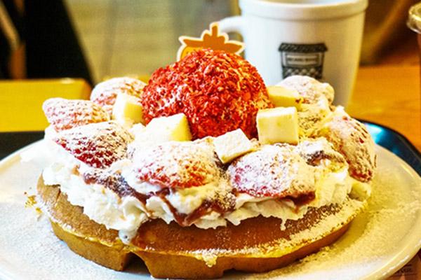 韩国草莓蛋糕甜点大搜罗1