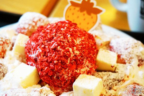韩国草莓蛋糕甜点大搜罗4