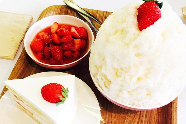 韩国草莓蛋糕甜点大搜罗19