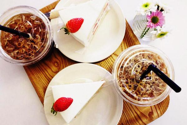 韩国草莓蛋糕甜点大搜罗20