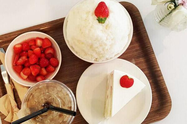 韩国草莓蛋糕甜点大搜罗22