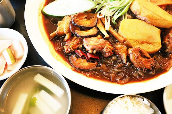 韩国新安东炖鸡15